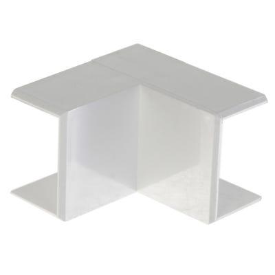 Mini Trunking Internal Angle White 16mm x 25mm
