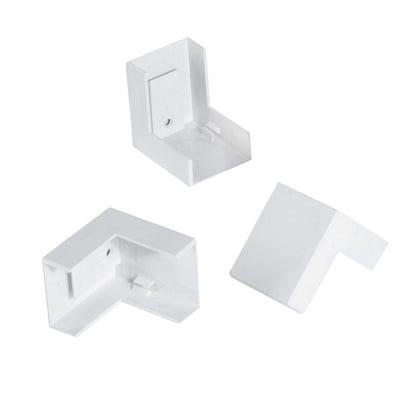 Mini Trunking External Angle White 16mm x 40mm