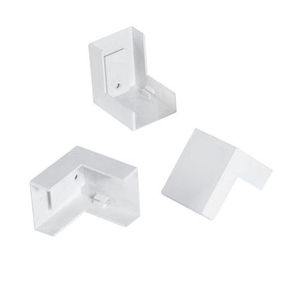 Mini Trunking External Angle White 16mm x 40mm