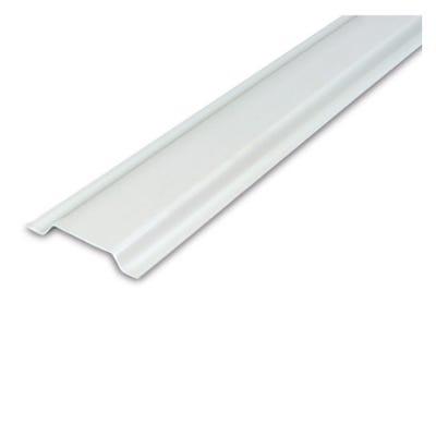 PVC Channel White Plastic 12mm x 2m