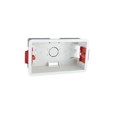 2 Gang 47mm Dry Lining Box