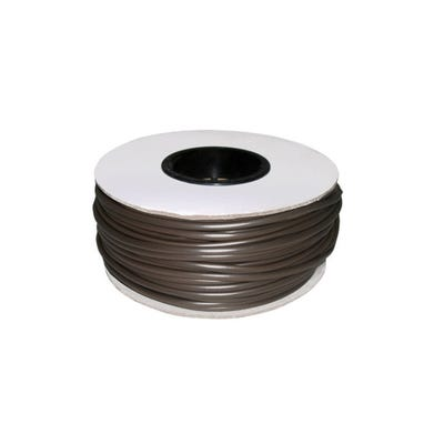 Brown Cable Sleeving 4mm 100m Drum