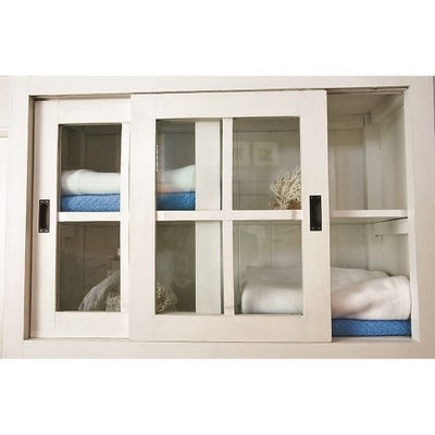 Sliding Cabinet Door Kit 1200mm (Slipper) 9kg max