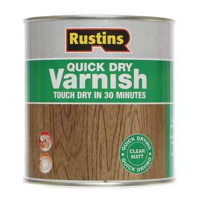 Rustins Quick Drying Varnish Matt Clear