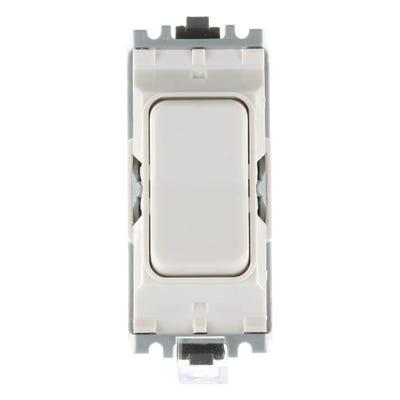 MK 10A 2 Way Switch Modules Retroactive White K4900WHI