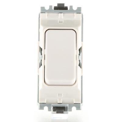 MK 20A Grid Switch Module 1 Way Push to Make K4910WHI