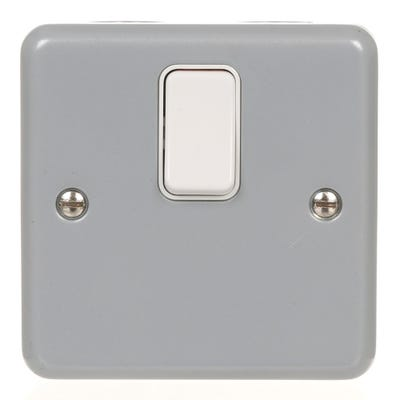 MK 20A Metal Clad Double Pole Switch K5212ALM
