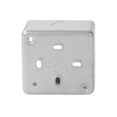 MK 38mm 1 Gang Metal Clad Back Box K8891ALM
