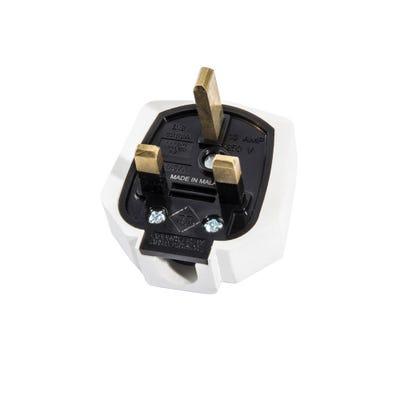 MK 13A Rubber Plug White