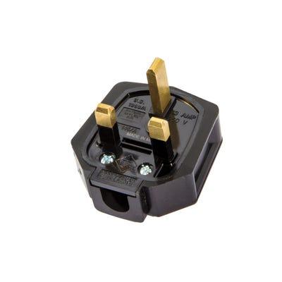 MK 13A Rubber Plug Black PF133BLK