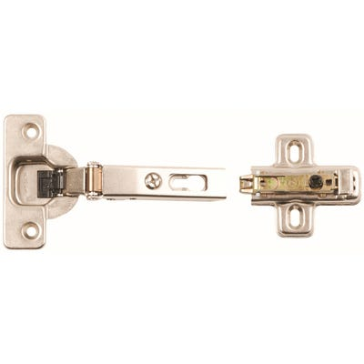 Clip on Cabinet Hinges 110° 35mm Pack of 2