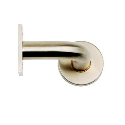 Dale 75mm Handrail Wall Bracket Satin Stainless Steel