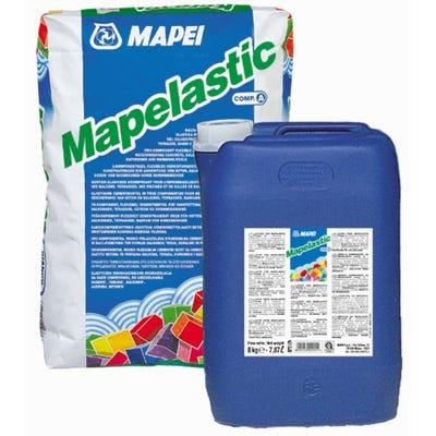 Mapei Mapelastic Foundation 2 Part Flexible Waterproof Render 32Kg