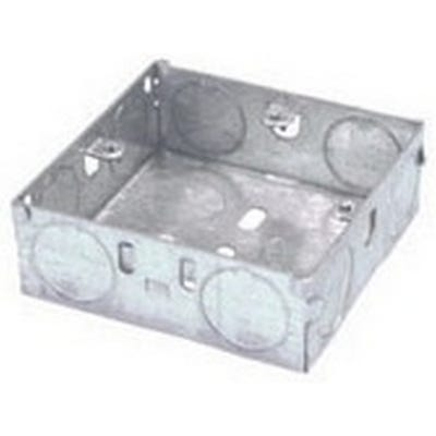 1 Gang 16mm Metal Back Box