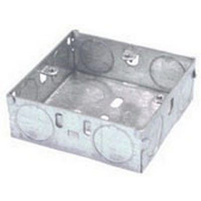2 Gang 16mm Metal Back Box