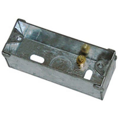 1 Gang Metal Architrave Box