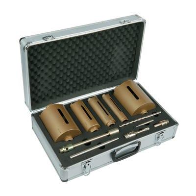 Spectrum Plus 11 Piece Dry Core BIt Set & Case 38-127mm