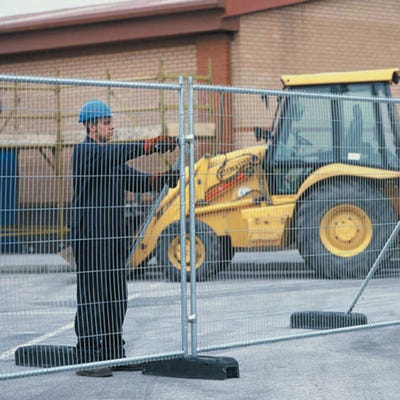 Anti Climb Site Fence Panel (H) 2000mm x (W) 3450mm
