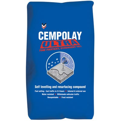 Bostik Cempolay Ultra Strong Self Levelling & Resurfacing Compound 25kg