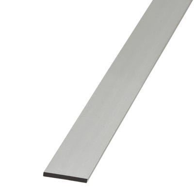 Anodised Aluminium Flat Bar 25mm x 1m