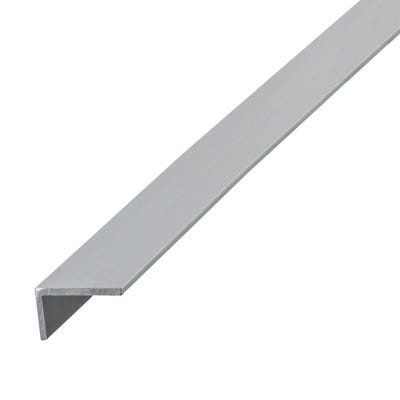 Anodised Aluminium Angle Unequal Sides 10mm x 20mm x 1m