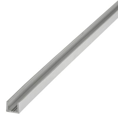 Anodised Aluminium U-Profile 8mm x 10mm x 1m