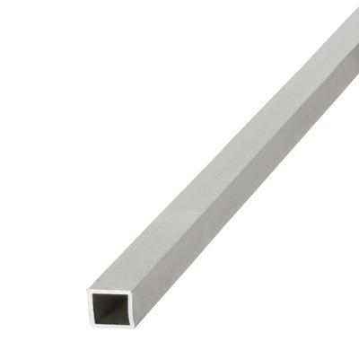 Anodised Aluminium Square Tube 10mm x 10mm x 1m