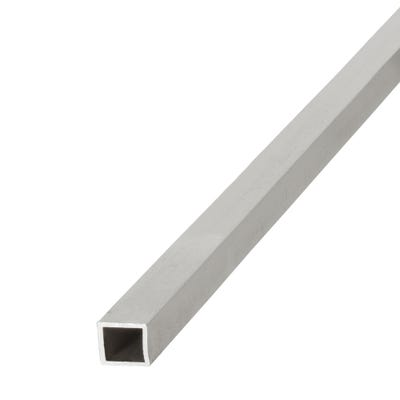 Anodised Aluminium Square Tube 15mm x 15mm x 1m