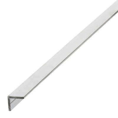 Aluminium Angle Equal Sides 15.5mm x 1m