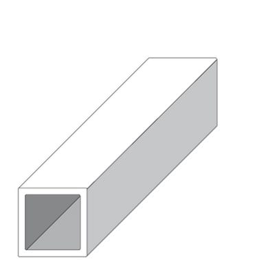Cold Rolled Steel Square Tube 20mm x 2m