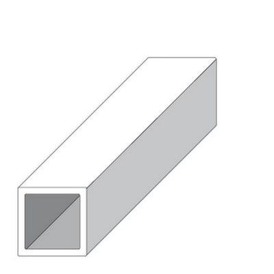 Cold Rolled Steel Square Tube 25mm x 2m