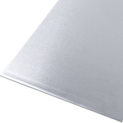 Natural Aluminium Sheet 0.8mm x 250mm x 500mm