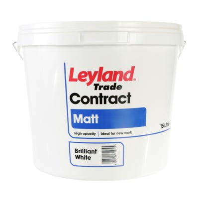 Leyland Trade Contract Matt Brilliant White