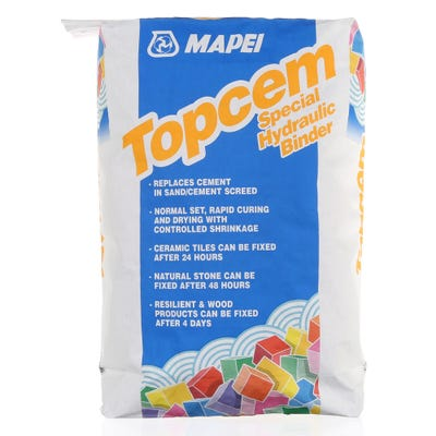 Mapei Topcem Special Hydraulic Binder For Screed 20Kg