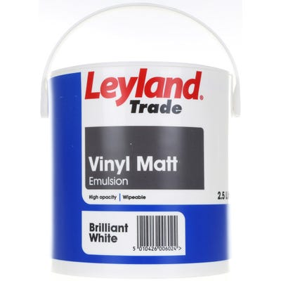 Leyland Trade Vinyl Matt Brilliant White