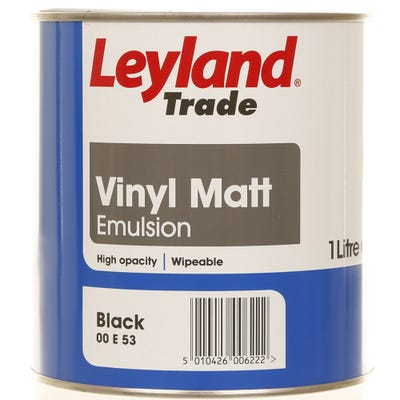 Leyland Trade Vinyl Matt Black 1L