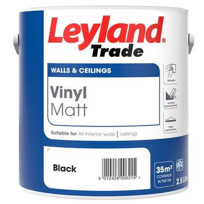 Leyland Trade Vinyl Matt Black