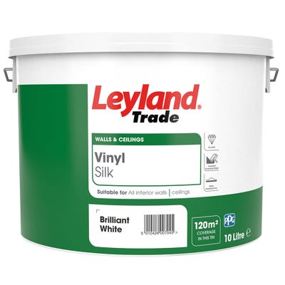 Leyland Trade Vinyl Silk Brilliant White