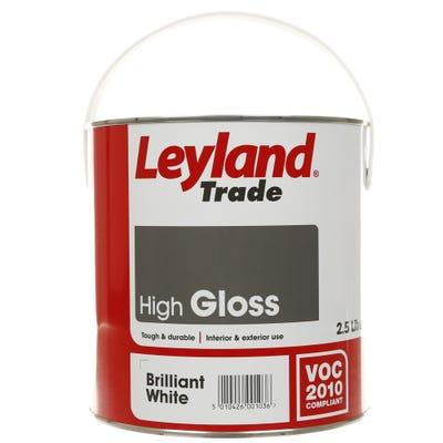 Leyland Trade High Gloss Brilliant White