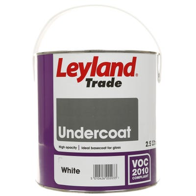 Leyland Trade Undercoat White