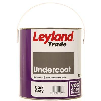 Leyland Trade Undercoat Dark Grey