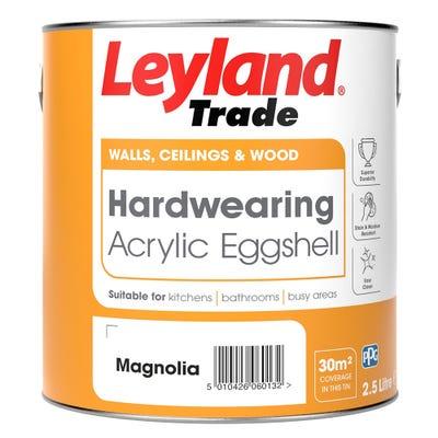 Leyland Trade Acrylic Eggshell Magnolia