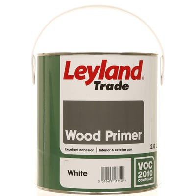 Leyland Trade Wood Primer White