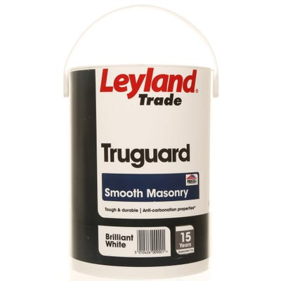 Leyland Trade Truguard Smooth Masonry Brilliant White