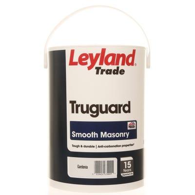 Leyland Trade Truguard Smooth Masonry Gardenia 5L