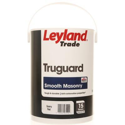 Leyland Trade Truguard Smooth Masonry Quarry Red 5L