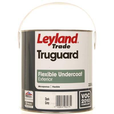 Leyland Trade Truguard Flexible Undercoat Exterior Dark Grey 2.5L