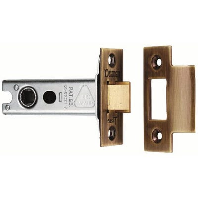 Eurospec 76mm Heavy Duty Tubular Mortice Latch Polished Brass