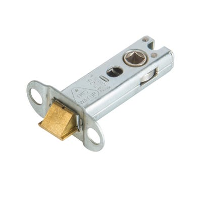 Eurospec 76mm Heavy Duty Tubular Mortice Latch Stainless Steel