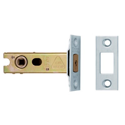 Eurospec 76mm Bathroom Dead Bolt Satin Stainless Steel